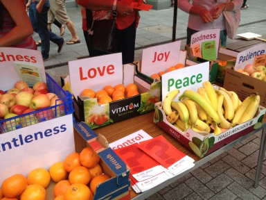 Fruit of the Spirit in a St St project