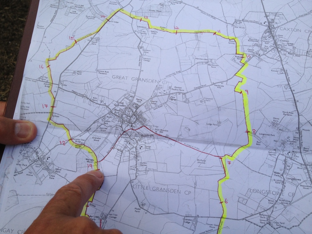 Beating the bounds