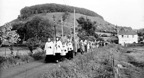 Rogation procession in Bedford