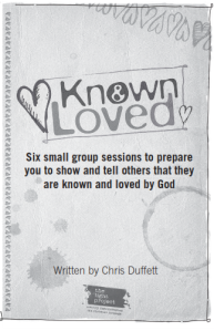 Known and Loved is a free Pdf that will be emailed to you for you to use with your small groups to prepare them to do something missional